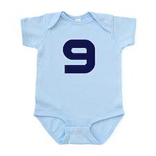 Number Nine 9 Infant Bodysuit