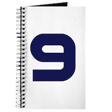 Number Nine 9 Journal