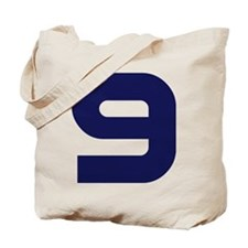 Number Nine 9 Tote Bag