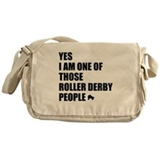 ROLLER DERBY PEOPLE Messenger Bag