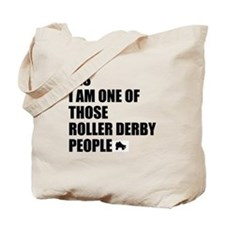 ROLLER DERBY PEOPLE Tote Bag