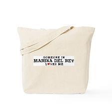 Marina Del Rey: Loves Me Tote Bag