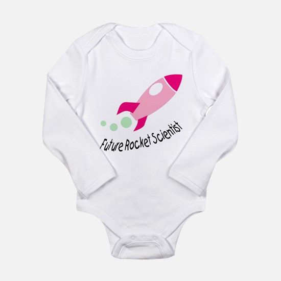 Baby Rocket Scientist Long Sleeve Infant Bodysuit