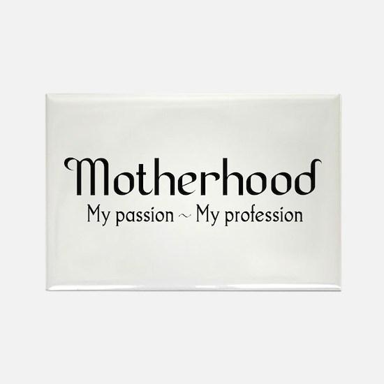 Motherhood for light backgrounds Rectangle Magnet
