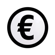 "Euro symbol 3.5"" Button"
