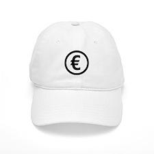 Euro symbol Baseball Cap