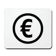 Euro symbol Mousepad
