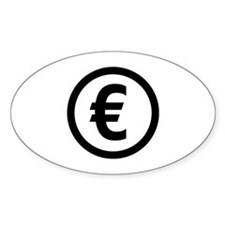 Euro symbol Decal