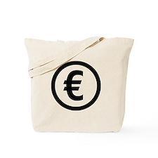 Euro symbol Tote Bag