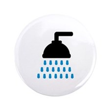 "Shower 3.5"" Button (100 pack)"