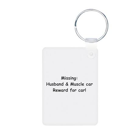 Husband And Muscle Car Reward For Car Aluminum Pho