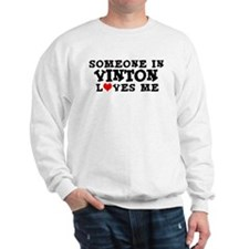 Vinton: Loves Me Sweatshirt