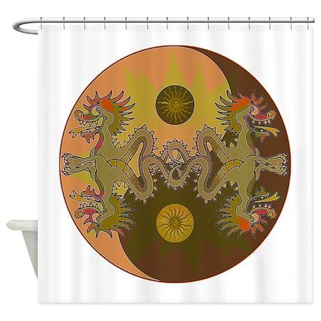 Dragon Zen Shower Curtain