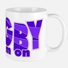 Girls Rugby Purple Mug