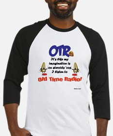 OTR Imagination Old Time Radio Baseball Jersey