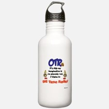 OTR Imagination Old Time Radio Water Bottle