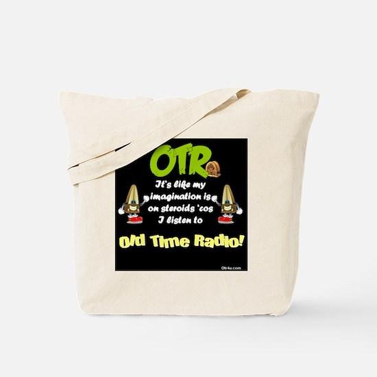 OTR Imagination Dark Old Time Radio Tote Bag