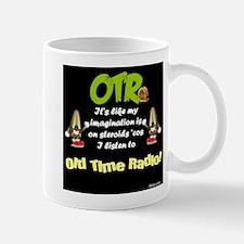 OTR Imagination Dark Old Time Radio Mug
