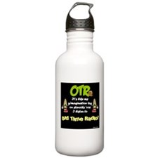 OTR Imagination Dark Old Time Radio Water Bottle