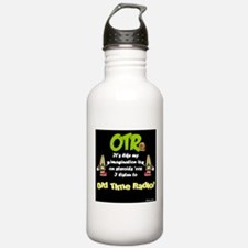OTR Imagination Dark Old Time Radio Water Bottle