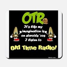 OTR Imagination Dark Old Time Radio Mousepad