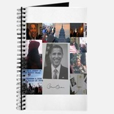 Cute Obama collectibles Journal