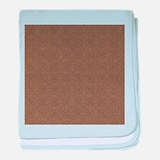 Brown Crosses.jpg baby blanket