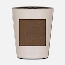 Brown Crosses.jpg Shot Glass