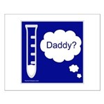 Test Tube Daddy Small Poster