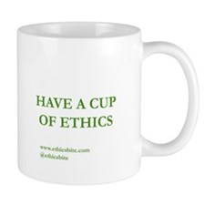 Have A Cup Of Ethics (Green Letters)