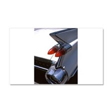 Cars: Classic Caddy Tail Fin Car Magnet 20 x 12