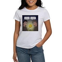 roasting marshmallows Women's T-Shirt