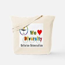 UU We Love Diversity.png Tote Bag