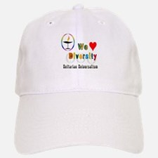 UU We Love Diversity.png Baseball Baseball Cap
