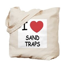I heart sand traps Tote Bag