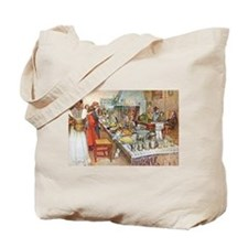 Scandinavian Celebration Tote Bag