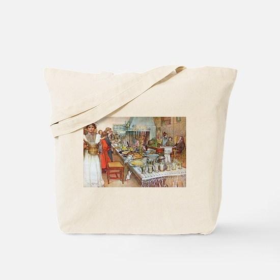 Scandinavian Celebration Tote Bag