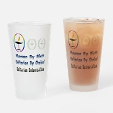 UU Unitarian By Choice.png Drinking Glass
