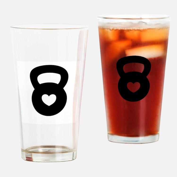 Cute Wod Drinking Glass
