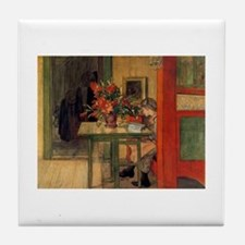 The Reader, Carl Larsson Tile Coaster