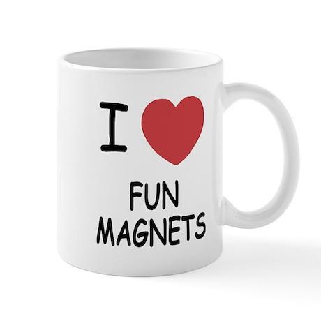 I heart fun magnets Mug