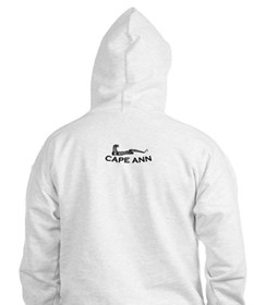 Cape Ann - Sea Serpent Design. Hoodie