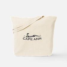 Cape Ann - Sea Serpent Design. Tote Bag