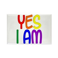 Yes I Am Rectangle Magnet (100 pack)