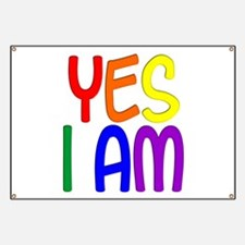 Yes I Am Banner