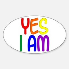Yes I Am Decal