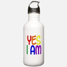 Yes I Am Water Bottle