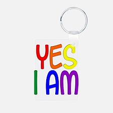 Yes I Am Keychains