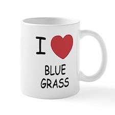 I heart bluegrass Mug
