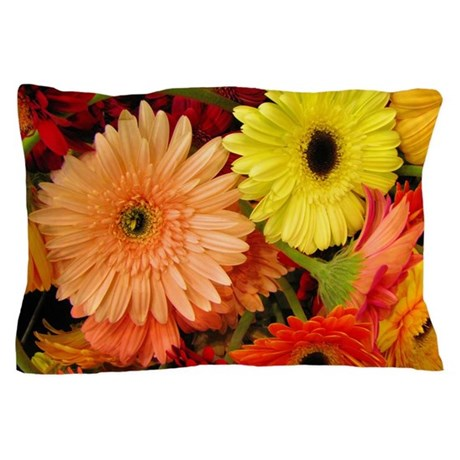 Gerbera Daisies Pillow Case